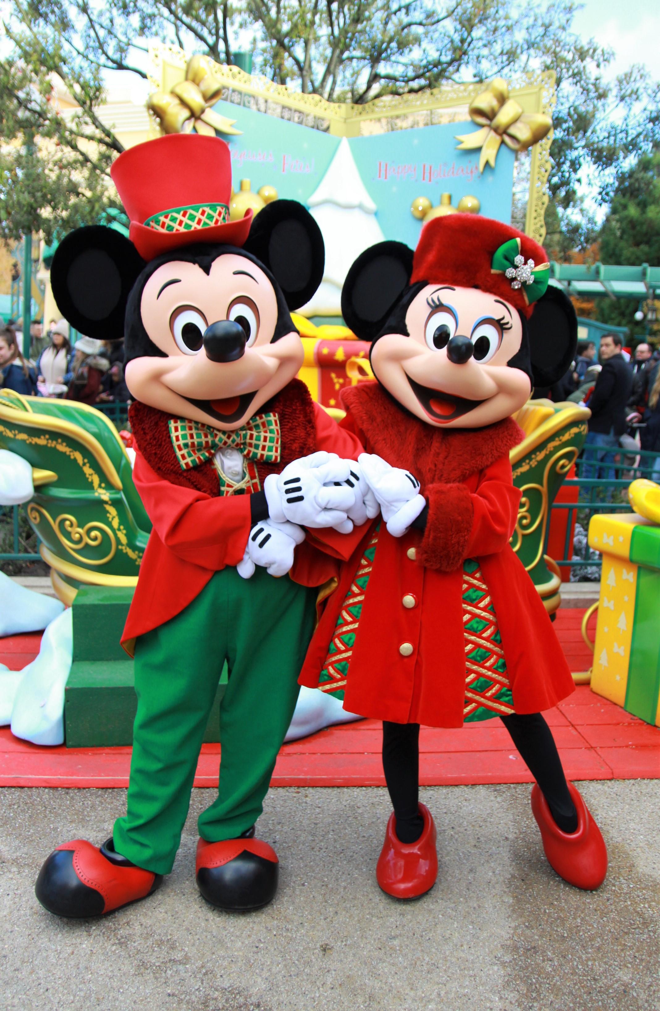 ディズニーランドパリのクリスマスイベント | パリ滞在ブログ